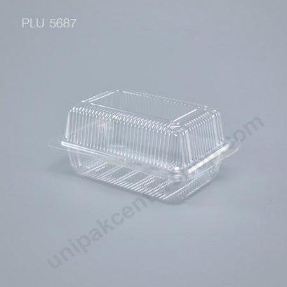 กล่องใส สี่เหลี่ยมผืนผ้า-L - ไซส์ใหญ่ 9.1x13.1x6cm (Medium Rectangular OPS Food Box) (TL-103)