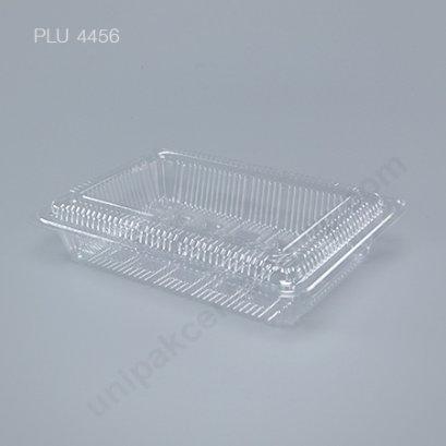 กล่องใส สี่เหลี่ยมผืนผ้า เตี้ย-L 15x21.5x5 (Large Flat Rectangular OPS Food Box) (TL-6H)