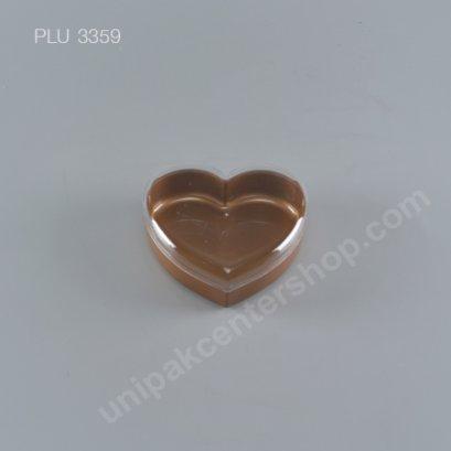 กล่องแข็งหัวใจ กลาง NO.1382 (300ml) สีทอง