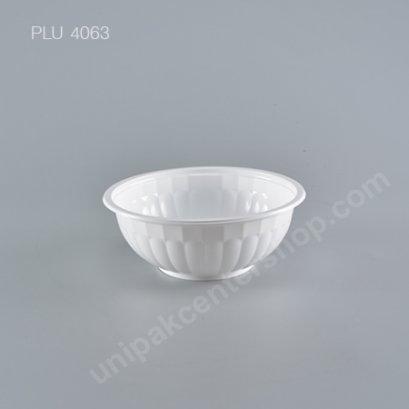 ชามบะหมี่ PP สีขาว 180ml. (1000ml)