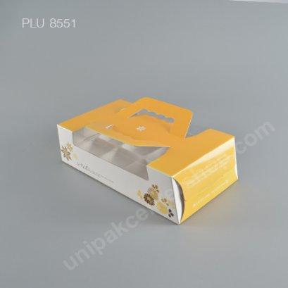 กล่องกระดาษเค้กP512ส้ม