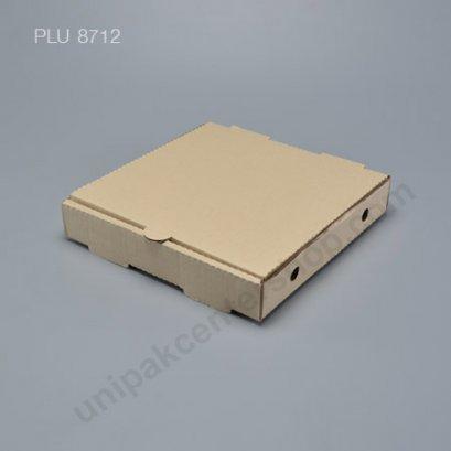 """กล่องพิซซ่า กระดาษ 9"""" + แผ่นรอง (Pizza Takeaway Box)"""