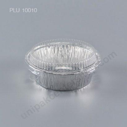 ถาดฟอยล์ กลม-M - ไซส์กลาง + ฝา (Medium Round Foil Tray) (SS) 3006