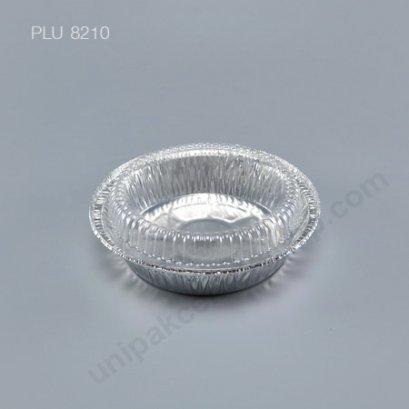 ถาดฟอยล์ กลม-M - ไซส์กลาง Silver + ฝา (Medium Round Foil Tray) No.333