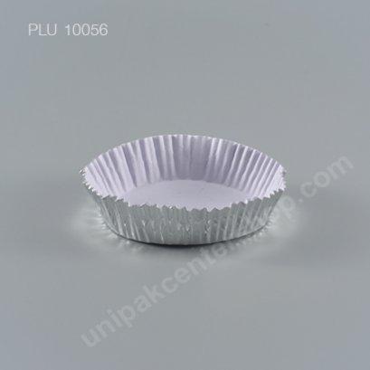 กระทงกระดาษฟอยล์ 10x8.3x2.2 cm (Silver Foil Paper Cupcake Liner) (SS) (A-1)
