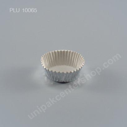 กระทงกระดาษฟอยล์ 4.8x3.7x2 cm (Silver Foil Paper Cupcake Liner) (SS) (2416)