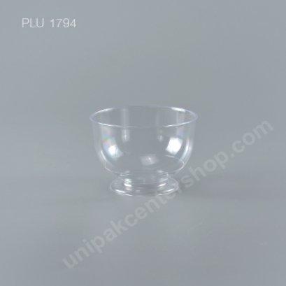 แก้วกลมอ้วน PS ใส No.801