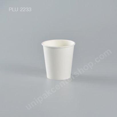 แก้วน้ำกระดาษ PC 4 oz ขาว