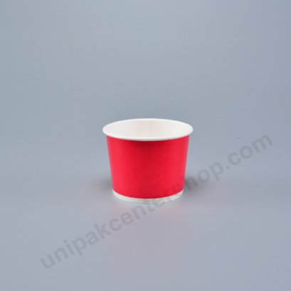 ถ้วยไอศกรีมกระดาษ 4 ออนซ์ สีชมพู