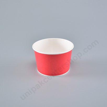ถ้วยไอศกรีมกระดาษ 8 ออนซ์ สีชมพู