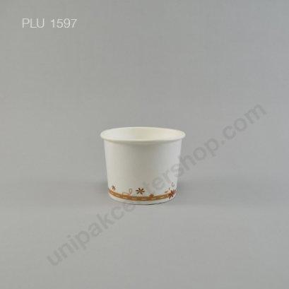 ถ้วยไอศกรีมกระดาษ 4 ออนซ์ พิมพ์ลาย (P)