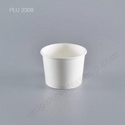 ถ้วยไอศกรีมกระดาษ 4 ออนซ์ ขาว