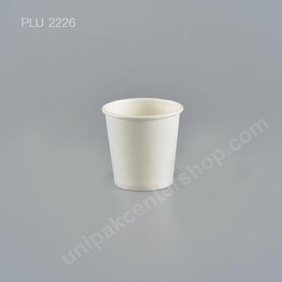 ถ้วยกระดาษ 4 oz ขาว(G)