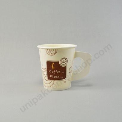 ถ้วยกระดาษ 6.5 ออนซ์ ลาย Coffee Place