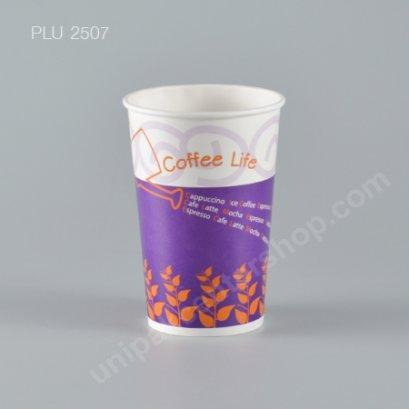 แก้วน้ำกระดาษ 16 oz ลาย Coffee Life