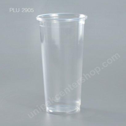 แก้ว น้ำดื่ม PP ใส 22 oz. ปาก 90 mm. PPN #90