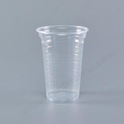 ถ้วยน้ำดื่ม 12 ออนซ์ PP เกล็ดแก้วใส