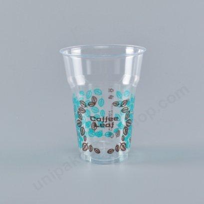 ถ้วยน้ำดื่ม 16 oz GPPS ลาย COFFEE LEAF
