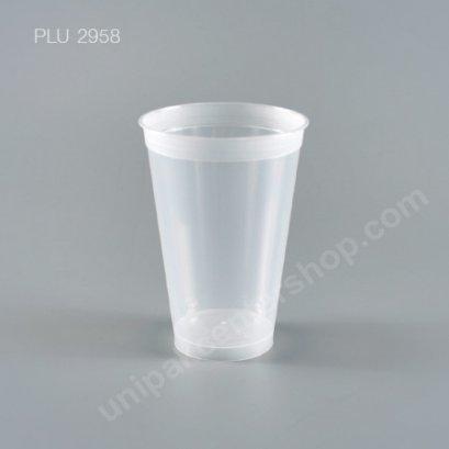 ถ้วยน้ำดื่ม 16 oz PP แข็งใส