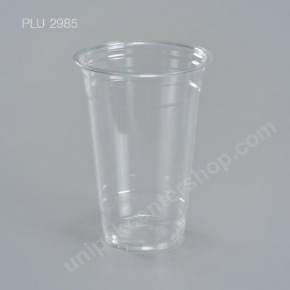 แก้ว น้ำดื่ม PET ใส 20 oz. ปาก 98 mm. หนา (FPC)