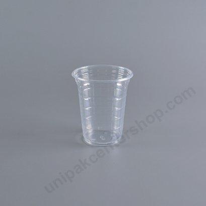 ถ้วยน้ำดื่ม 7 oz PP เกล็ดแก้วใส