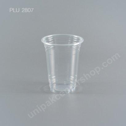 แก้ว น้ำดื่ม PP ใสเรียบ 16 oz. ปาก 95 mm. ทรง US (E)