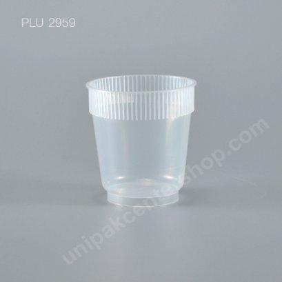 แก้ว น้ำดื่ม Rigid PP แข็ง 8 oz. ปาก 98 mm.