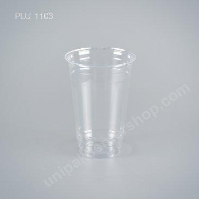 ถ้วยน้ำดื่ม 22 oz. GPPS ใส #98 mm.