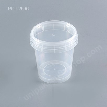 ถ้วยเซฟตี้ซีล NO.1659        (350 ml)  + ฝาใส