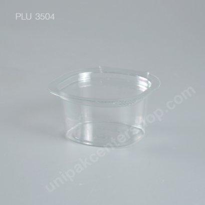 กระปุกน้ำจิ้ม 3 oz PET ฝาในตัว (SC)