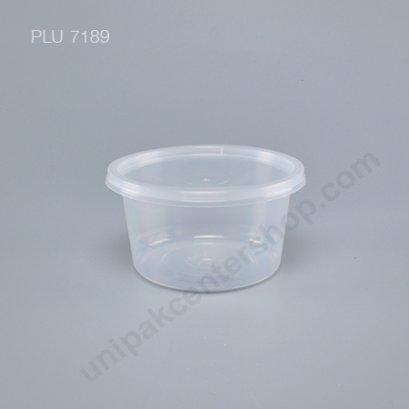 กล่องใส่อาหารทรงกลม PPใส 440 ml+ฝา(C16)  ตรา โรดดี้แพค