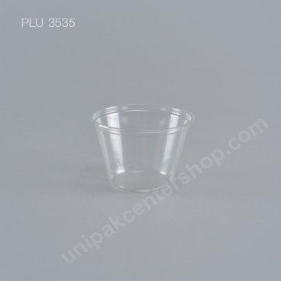 แก้วชิม2.5oz.ใส+ฝาใส