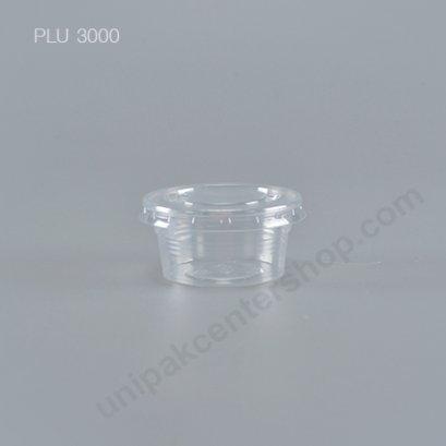 ถ้วยชิม 2 oz  K-resin+ฝา PET ปาก 60 mm (EPP)