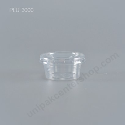 ถ้วยชิม 2 oz  K-resin+ฝา PET ปาก 60 mm
