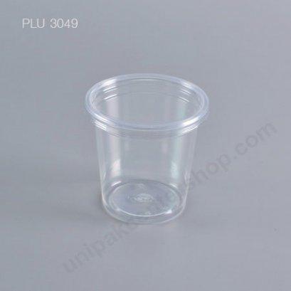 ถ้วยน้ำ 6 oz k-resin + ฝาเรียบ (8124) (EPP)