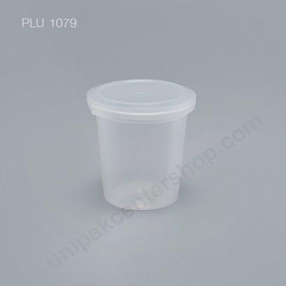 ถ้วยเต้าฮวย พุดดิ้ง PP+ฝาฉีก (150 ml / 6oz.) G116