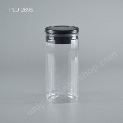 กระปุก PET 800 gm + ฝา 2 ชั้น (ดำ)