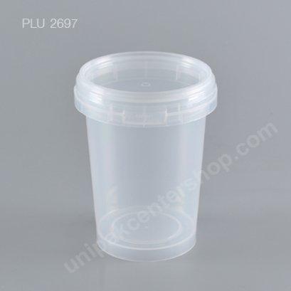 ถ้วยเซฟตี้ซีล NO.1660 (450 ml) + ฝาใส