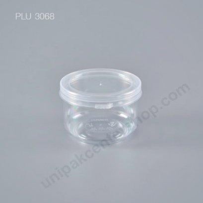 กระปุก ใส่อาหาร น้ำพริก PS (4 oz.) 5.8 x 4.5 cm. + ฝาฉีก Safety Seal 926