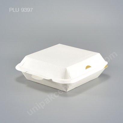 Fest กล่องอาหารกระดาษปลอดภัยจัตุรัส 1300 ml.