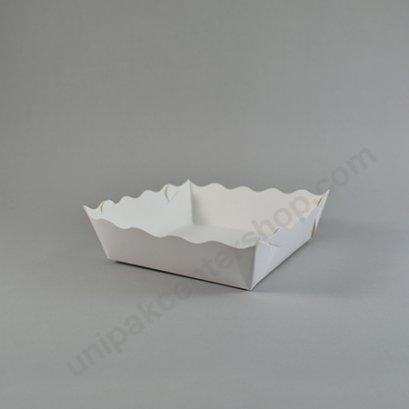 ถาดกระดาษอาหารขนมจีบขาว