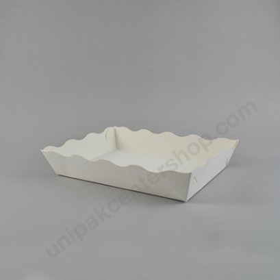 ถาดกระดาษอาหาร ขนาด 4 x 6 นิ้ว (DW301-2)