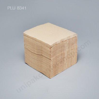 กระดาษชำระสีน้ำตาล ขนาด 30 x 30 cm (1 ชั้น , พับ 4)