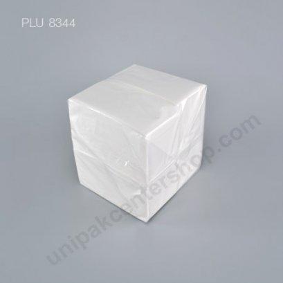 กระดาษชำระสีขาว ขนาด 33 x 33 cm (1 ชั้น , พับ 8)