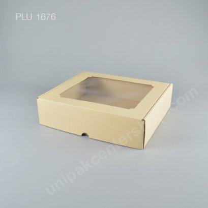 กล่องลูกฟูกเจาะหน้าต่าง ไซส์ XL