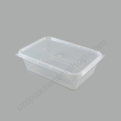 กล่องใส่อาหาร วัสดุ PP พร้อมฝา บรรจุ 650 ml ตรา โรดดี้แพค