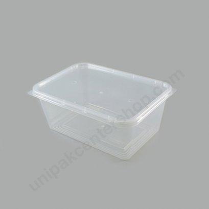กล่องใส่อาหาร วัสดุ PP พร้อมฝา บรรจุ 1000 ml ตรา โรดดี้แพค