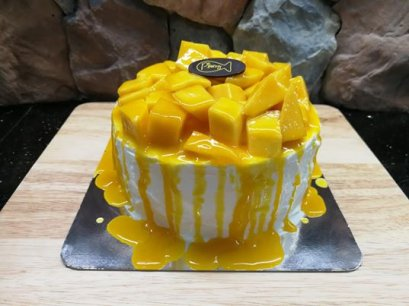 Mango & Sticky Rice Cake