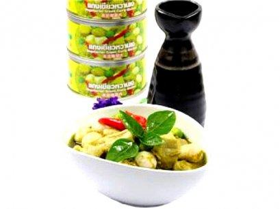 แกงเขียวหวานเจ 200 กรัม (อาหารกระป๋อง)