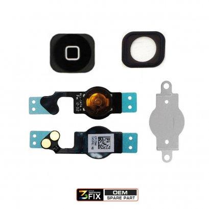 ชุดแพรปุ่ม Home ( OEM ) iPhone 5G